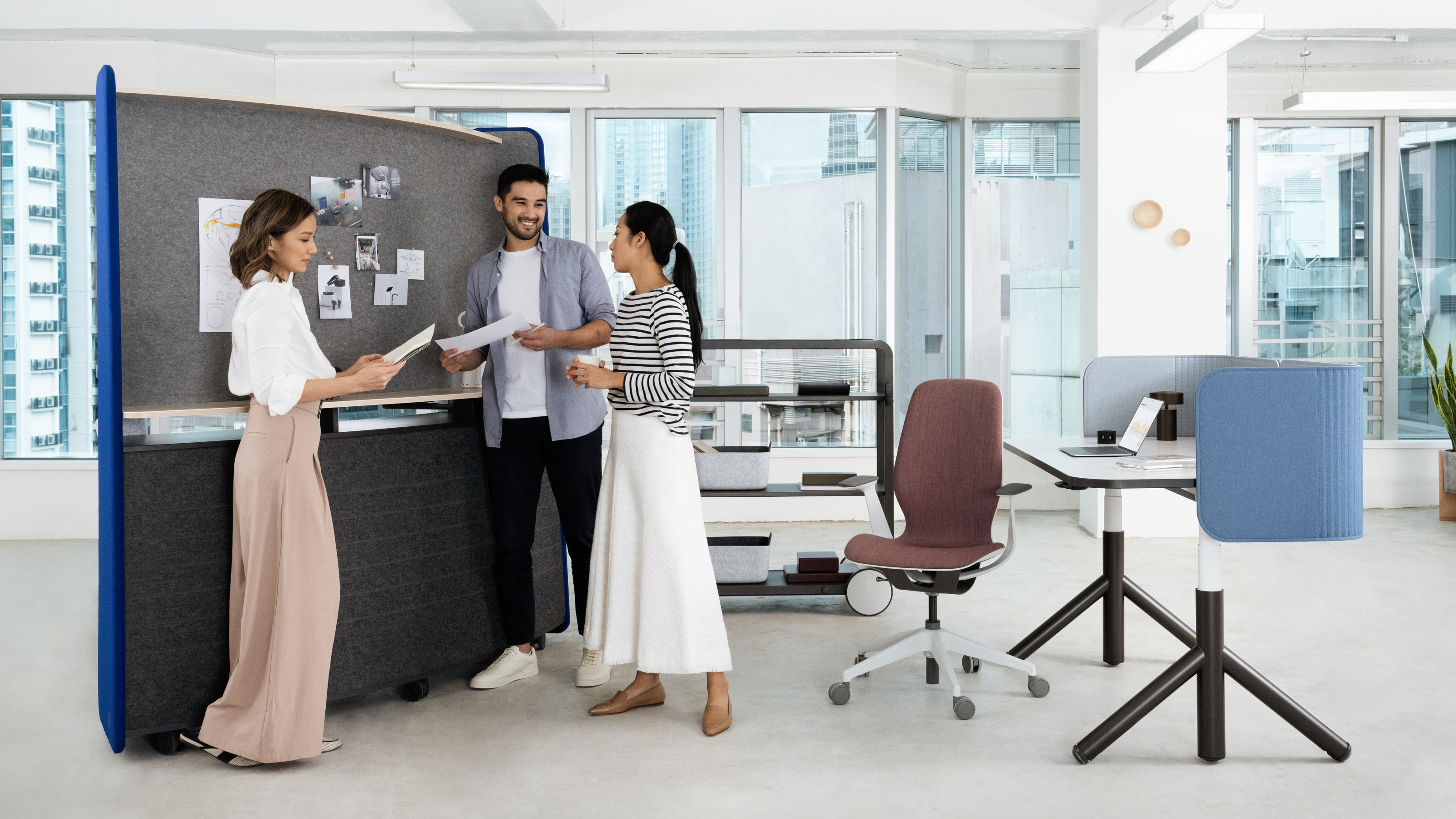 Steelcase Introduces Flex Huddle Hub - Steelcase
